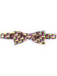 Fe Fe Fefe Checked Bow Tie Multicolour