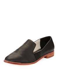 Matt Bernson Ellington Leather Loafer Black Pattern