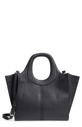 Danielle Nicole Mallory Leather Hobo Black
