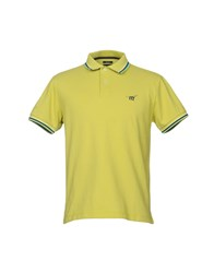 Henry Cotton's Polo Shirts Acid Green