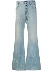 Each X Other Flared Jeans Blue