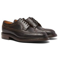 Cheaney Addison Leather Wingtip Brogues Black