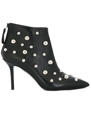 Premiata Studded Stiletto Boots Black