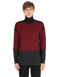 Var City Micro Houndstooth Wool Sweater