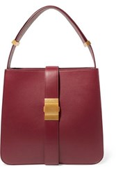 Bottega Veneta Marie Medium Leather Shoulder Bag Burgundy