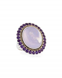 Lagos Lavender Quartz And Amethyst Statement Ring Purple