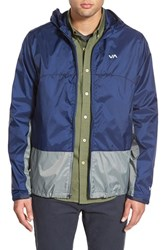 Men's Rvca Water Repellent Hooded Jacket