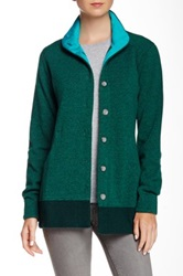 Mountain Hardwear Sarafin Button Front Sweater Green