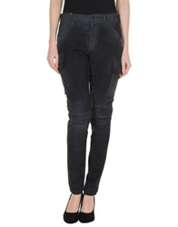Notify Jeans Notify Leather Pants Dark Green