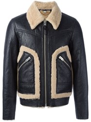 Coach Zipped Jacket Black