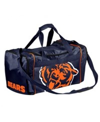 Forever Collectibles Chicago Bears Core Duffle Bag Navy