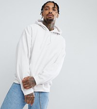 Reclaimed Vintage Inspired Oversized Hoodie In White White