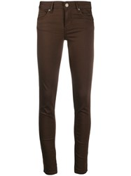 Liu Jo Skinny Trousers Brown