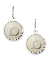 Alex And Ani Initial B Necklace Charm Silver