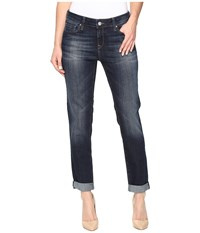 Mavi Jeans Ada Relaxed Boyfriend In Indigo Brushed Tribeca Indigo Brushed Tribeca Women's Blue