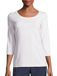 Max Mara Multic Stretch Cotton Tee