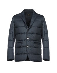 Brooks Brothers Synthetic Down Jackets Slate Blue