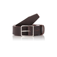 Felisi Numbered Leather Belt Brown