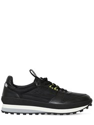 Givenchy Leather And Nylon Running Sneakers Black