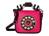 Betsey Johnson Betsey's Hotline Fuchsia Handbags Pink