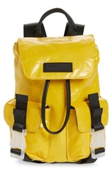 Kendall Kylie Mini Parker Water Resistant Backpack Yellow