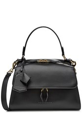 Victoria Beckham Small Pocket Leather Tote Black