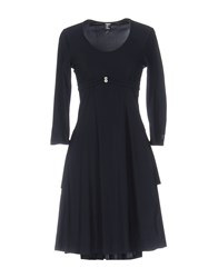 Tricot Chic Short Dresses Dark Blue