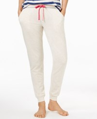 Tommy Hilfiger Jogger Sleep Pants Oatmeal Heather