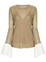 Camilla And Marc Olga Top Brown