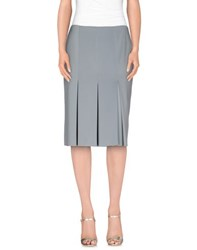 Normaluisa Skirts Knee Length Skirts Women Sky Blue