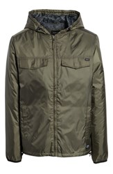 Rvca Tracer Jacket Olive