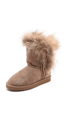 Koolaburra Trishka Fur Booties Seta