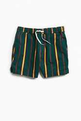 Urban Outfitters Uo Maximus Printed Short Green Multi