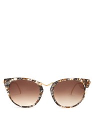 Thierry Lasry Hinky Cat Eye Sunglasses Multi