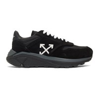 Off White Black Jogger Sneakers