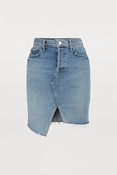 Mother The Tomcat Denim Skirt Problem With Miracle