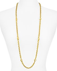 Julie Vos Savannah Station Necklace 38 Gold White