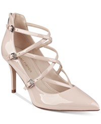Marc Fisher Danger Strappy Pumps Women's Shoes Blush