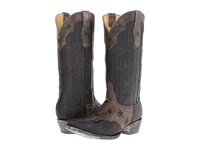 Old Gringo San Marcos Grey Black Cowboy Boots Gray