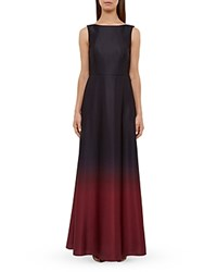 Ted Baker Christmas Ombre Gown Black