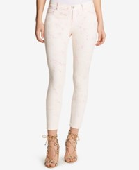William Rast Tie Dyed Ankle Skinny Jeans Peaches And Cream