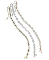 Inc International Concepts 3 Pc. Set Beaded Crystal Choker Necklaces Created For Macy's Gold Multi