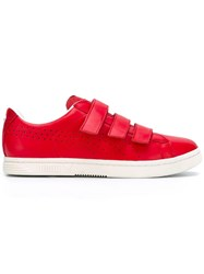 Puma 'Court Star Velcro French Star High Risk' Sneakers Red