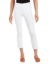 Nydj Petite Millie Ankle Pants Endless White