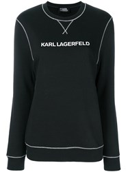 Karl Lagerfeld Karl's Essential Sweatshirt Black