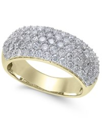 Macy's Diamond Wide Pave Band 1 1 2 Ct. T.W. In 14K Gold Or White Gold Yellow Gold