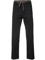 Marc Jacobs Straight Leg Trousers Black