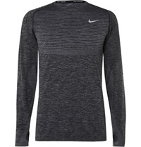 Nike Running Dri Fit Knit T Shirt Black