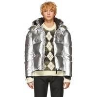 Mackage Silver Down Metallic Kent M Jacket