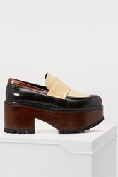 Marni Loafers Black Lily White Peanuts